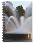 Feel The Mist Spiral Notebook