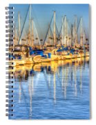 Feel The Warmth Spiral Notebook