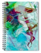 Feeling Abstract Spiral Notebook