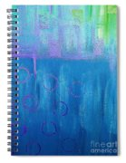 Feeling Blue Abstract Spiral Notebook