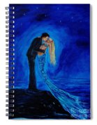 Feeling Safe In Your Arms Spiral Notebook