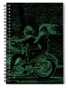 Feeling The Ride Spiral Notebook