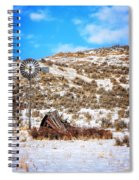 Feeling The Wind Spiral Notebook