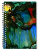 Feeling Violated And Blue Spiral Notebook