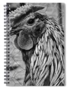 Felicia's Raving Rooster Spiral Notebook