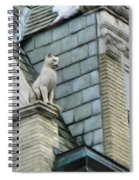 Feline Sentry Spiral Notebook