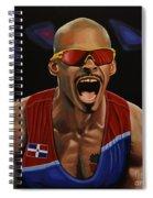 Felix Sanchez Spiral Notebook