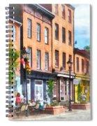 Fells Point Street Spiral Notebook