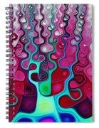 Felt Fantasy Spiral Notebook