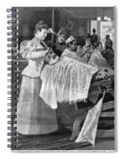 Female Barber-shop, 1895 Spiral Notebook