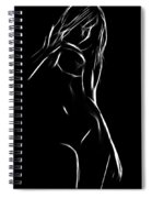 Female Black Spiral Notebook