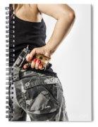 Feminin Agent Spiral Notebook