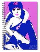 Femme Fatale Premeditated Spring Beauty Spiral Notebook
