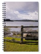 Fence At Kielder Water Spiral Notebook