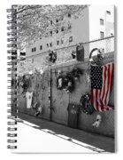 Fence At The Oklahoma City Bombing Memorial Spiral Notebook