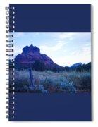 Fence Near Bell Rock Spiral Notebook