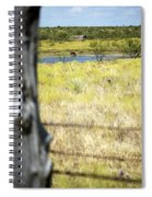 Fence Pasture Horse 14419 Spiral Notebook
