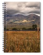 Fence View Spiral Notebook