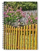 Fenced Beauty Spiral Notebook
