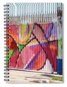 Fenced Spiral Notebook
