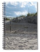 Fenced Dune Spiral Notebook