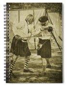 Fencing Practice Spiral Notebook