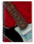 Fender-9644-fractal Spiral Notebook