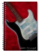 Fender-9668-fractal Spiral Notebook