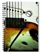 Fender Detail  Spiral Notebook