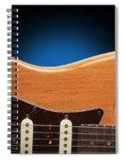 Fender Stratocaster Curves Spiral Notebook