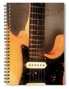 Fender Stratocaster Electric Guitar Spiral Notebook