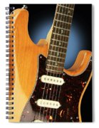 Fender Stratocaster Electric Guitar Natural Spiral Notebook