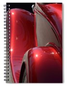 Fenders With Flare Spiral Notebook