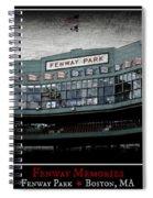Fenway Memories - Poster 1 Spiral Notebook