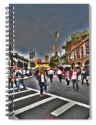 Fenway Park And Cask And Flagon Spiral Notebook