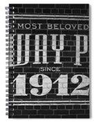 Fenway Park Boston Ma 1912 Sign Spiral Notebook