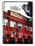 Fenway Park In October 2013 Spiral Notebook
