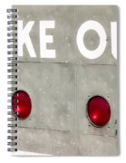 Fenway Park Strike - Out Scoreboard  Spiral Notebook