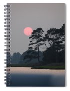 Fenwick Island Delaware Sunset Spiral Notebook
