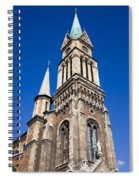 Ferencvaros Church Tower In Budapest Spiral Notebook