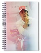 Fernando Alonso 3 Spiral Notebook