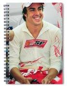 Fernando Alonso Spiral Notebook