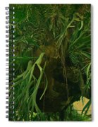 Ferns In The Jungle Room Spiral Notebook