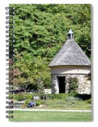 Fernwood Botanical Garden Stone Herb House Usa Spiral Notebook