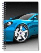 Ferrari 16 Spiral Notebook