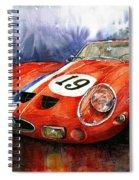 Ferrari 250 Gto 1963 Spiral Notebook