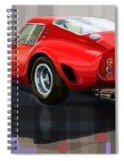 Ferrari 250 Gto Spiral Notebook