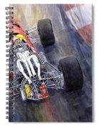 Ferrari 312 F1 1967 Spiral Notebook