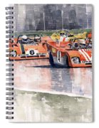 Ferrari 312 Pb Daytona 6 Hours 1972 Spiral Notebook