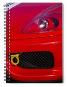 Ferrari 360 Spiral Notebook
